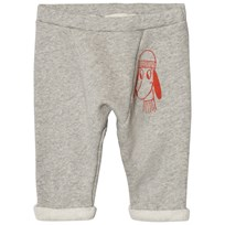 Bobo Choses Baby Sweatpants Loup Embroidery Sort