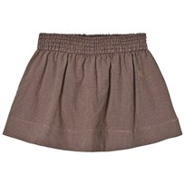 Bobo Choses Flared Skirt Vichy BROWN