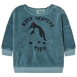 Bobo Choses Baby Sweatshirt Keep Waters Tidy