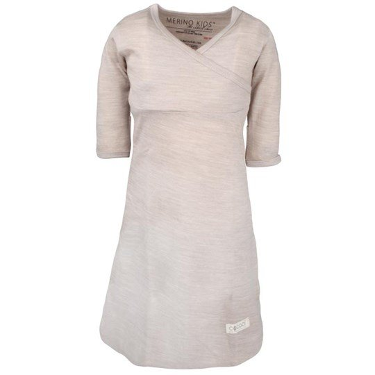 Merino Kids Cocooi Gown Natural White