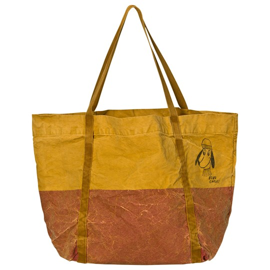 Bobo Choses Bicolor Tote Bag Red Loup Red