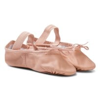 Bloch Pink Arise Leather Full Sole Ballet Shoes PNK