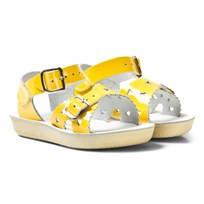 Salt-Water Sandals Sweetheart Premium Sandaler Shiny Yellow Yellow