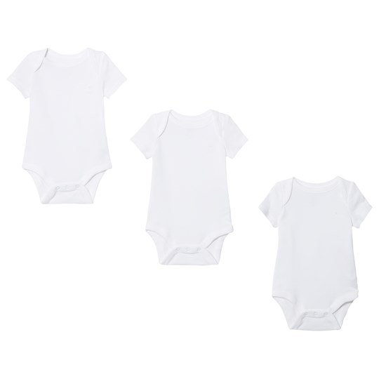 GAP Favorite Solid Baby Body (3 Pack) White OPTIC WHITE