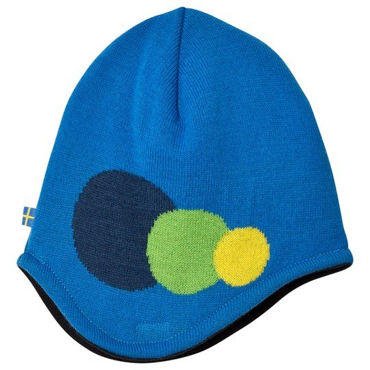 Isbjörn Of Sweden Blue Hat 3 Dots Blue