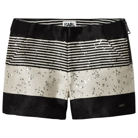 Karl Lagerfeld Kids Tweed and Sequin Shorts M91
