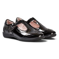 Lelli Kelly Jennette Black Patent T-Bar Shoes BLACK PATENT