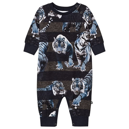 Molo Fairfax Baby One-Piece Blue Tigers Blue Tigers