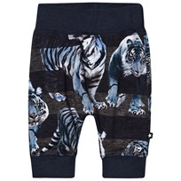Molo Sammy Soft Pants Blue Tigers Blue Tigers