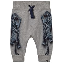 Molo Solomi Soft Pants Blue Tigers Blue Tigers