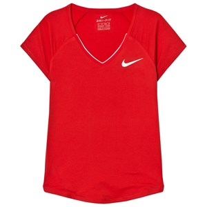 Image of NIKE Red Nike Pure Top S (8-10 years) (2743769433)