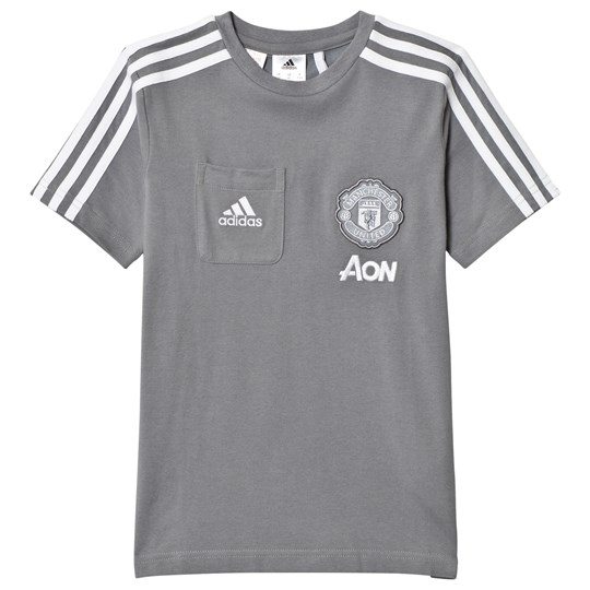 Manchester United Manchester United Junior Tee Grey/White