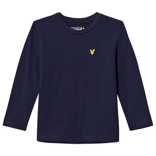 Lyle & Scott Navy Long Sleeve Tee Deep Indigo
