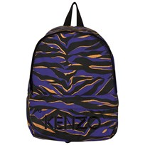 Kenzo Blue Tiger Stripe Backpack 48