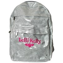 Lelli Kelly Silver Glitter Backpack Hopea
