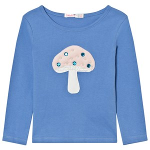 Image of Billieblush Blue Mushroom Applique Tee 12 years (2743764147)