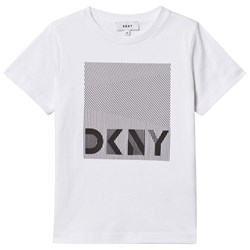 DKNY Branded Graphic T-shirt Vit