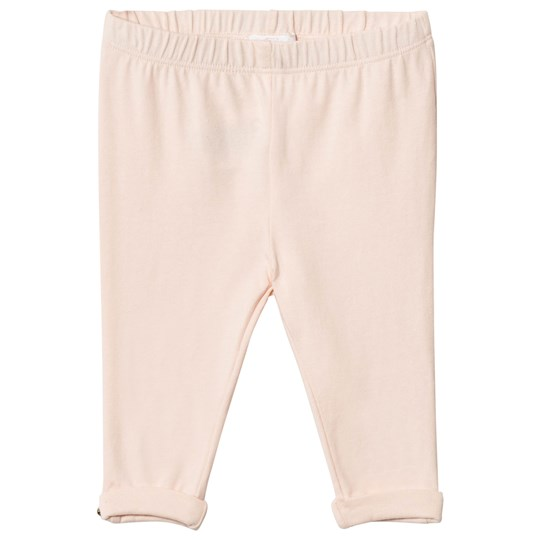 Chloé Pale Pink Legging Gold Button Detail 471