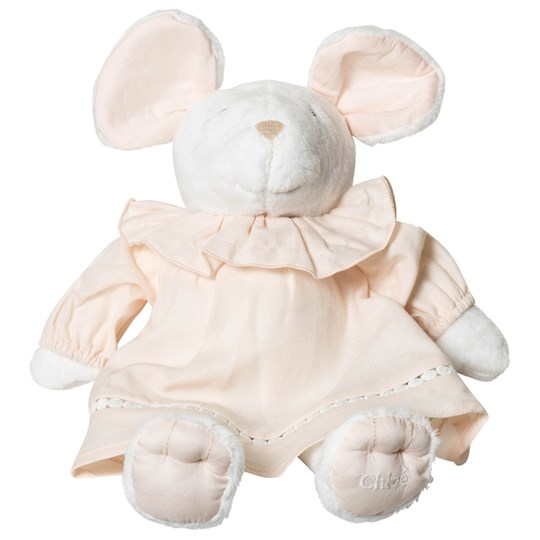 Chloé White Mouse Toy 471