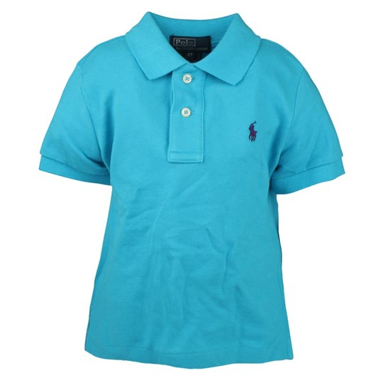 Ralph Lauren SS Classic Polo Delray Blue Blue