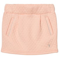 Carrément Beau Pink Textured Skirt 44D