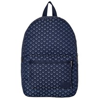 Armani Junior Blue All Over Logo Backpack 6935