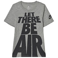 NIKE Let There Be Air T-Shirt Grå DK GREY HEATHER/ANTHRACITE