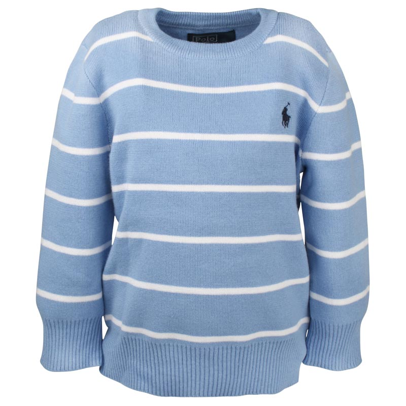 LS CN Sweater New Litchfield Blue - 1
