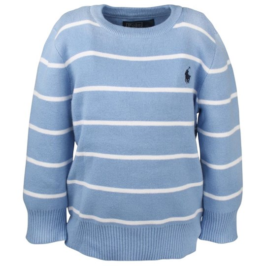 Ralph Lauren LS CN Sweater New Litchfield Blue  Blue