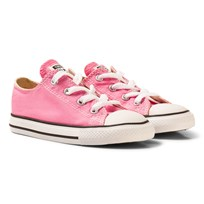 Converse Pink All Star Infant Low Top Sneakers Pink