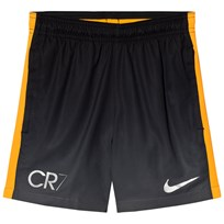 NIKE CR7 Squad Shorts DARK GREY/LASER ORANGE/METALLIC SILVER