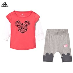 adidas Performance Disney Micky Mouse Infants Tee and Leggings Set