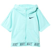 NIKE Aqua Green Training Hoodie LIGHT AQUA/SPACE BLUE