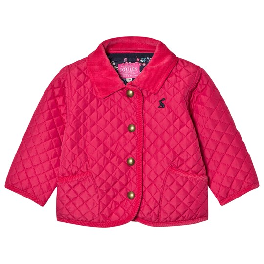 Tom Joule Pink Quilted Jacket BRIGHT PINK