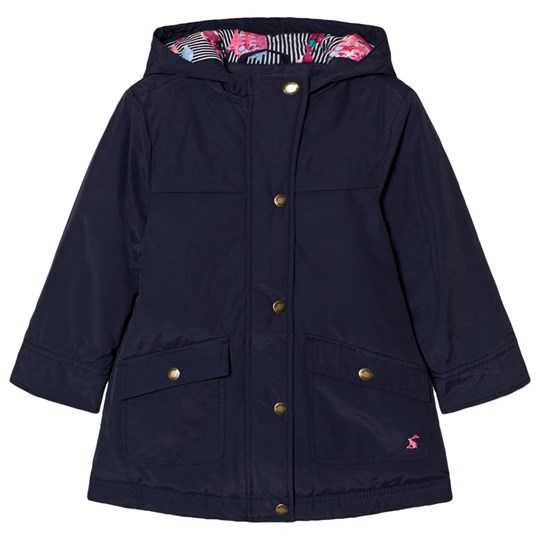 Tom Joule Navy Hooded Parka French Navy