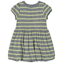 Mini A Ture Grey Yellow Dress Black