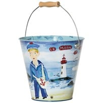Vilac Blue Sailor Bucket Blue