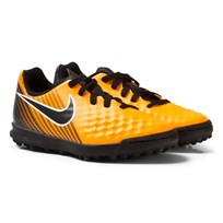 NIKE MagistaX Ola II Turf Soccer Boot LASER ORANGE/BLACK-WHITE-VOLT