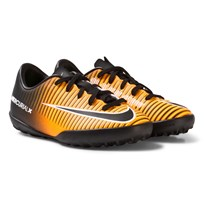 NIKE MercurialX Vapor XI Turf Football Boot LASER ORANGE/BLACK-WHITE-VOLT