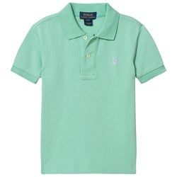 Ralph Lauren Lime Classic Polo with Small PP