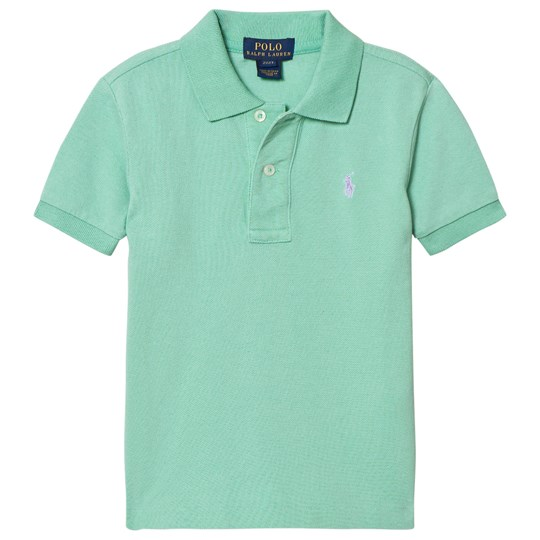 Ralph Lauren Lime Classic Polo with Small PP 001