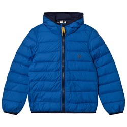 Timberland Royal Blue Water Repellent Ultralight Hooded Puffer