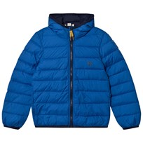 Timberland Royal Blue Water Repellent Ultralight Hooded Puffer 871