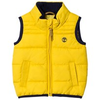 Timberland Yellow Puffer Hooded Vest 566