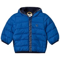 Timberland Royal Blue Ultralight Hooded Puffer Coat 871