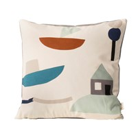 ferm LIVING Seaside Cushion - Off-white off-white