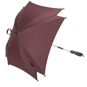 Image of Silver Cross Wave Parasol Claret (2743819173)