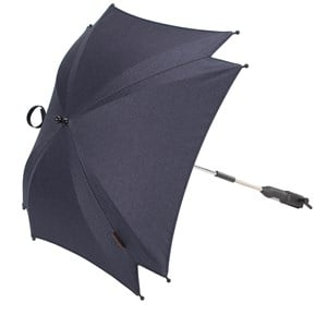 Image of Silver Cross Wave Parasol Midnight Blue (2743819177)