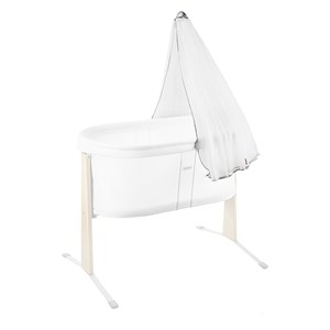 Image of Babybjörn Canopy Cradle White Canopy Cradle Harmony White (83438)