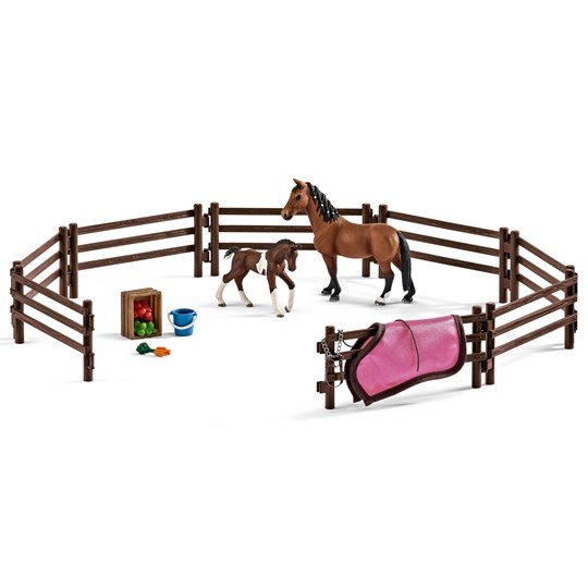 Schleich Paddock with Horses Unisex
